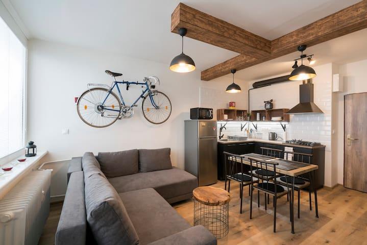 Urban apartment in the center of Bratislava