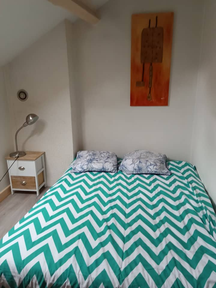 Petite chambre privée de 7M2  au coeur d'Annecy