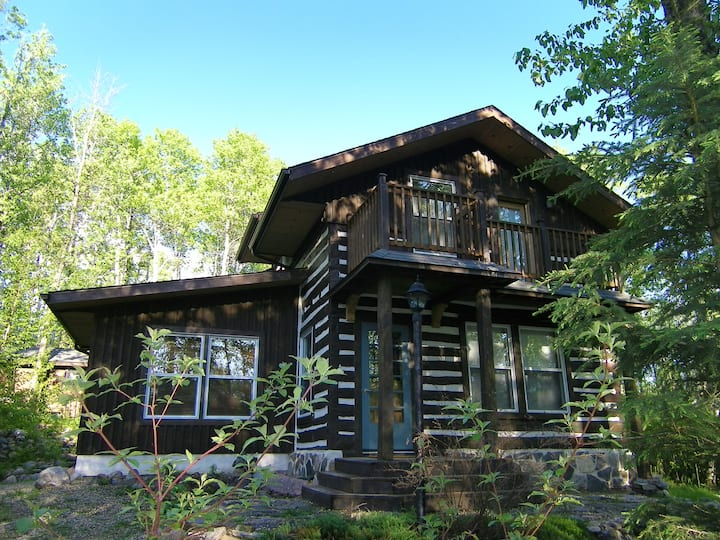 Our Log Cabin is the perfect place to unplug!