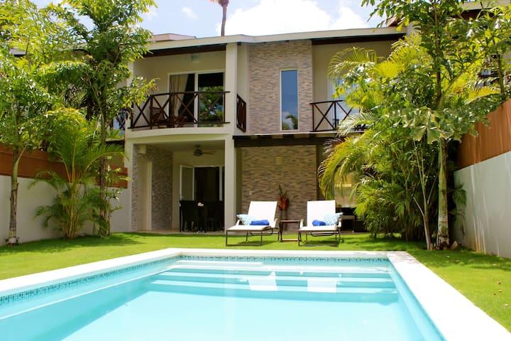 Villa Escalonia Playa Ballenas 80 meters