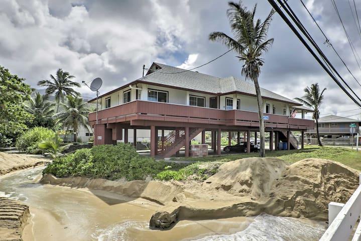 Modern Hauula Seaside Haven on East Oahu Shores!
