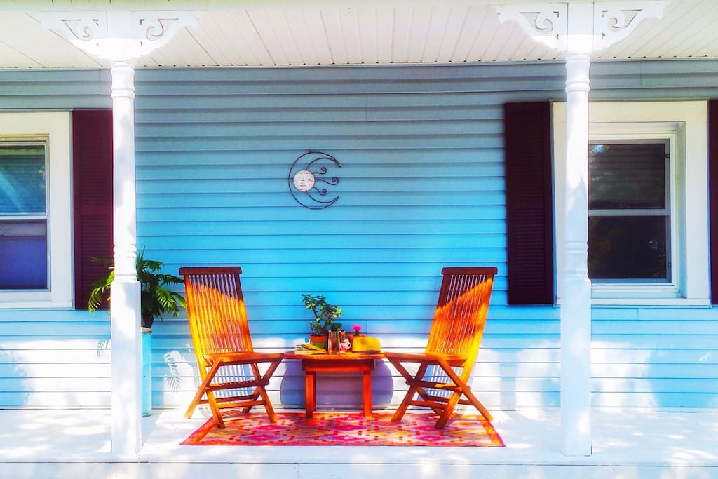 Porch for relaxing!