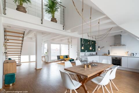 Modernes Wohnen über den Dächern Mannheims