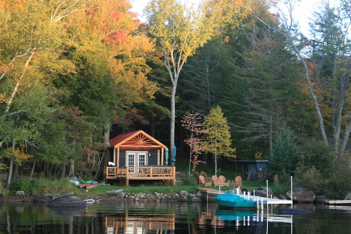 Waterfront Artisan ADK Cottage - Tupper Lake