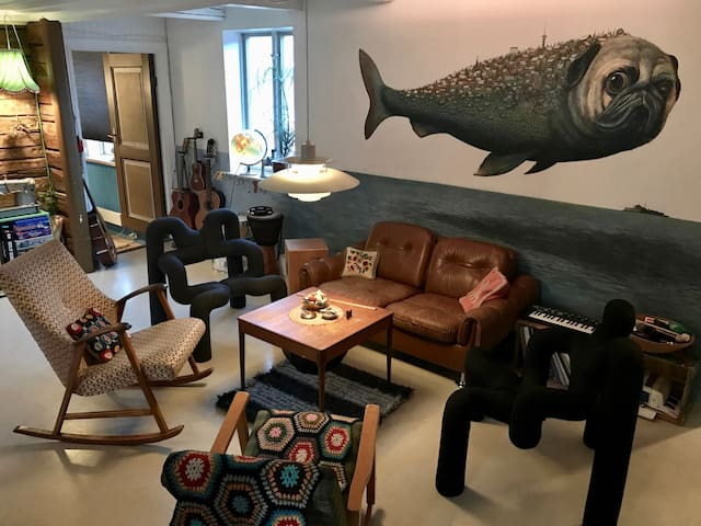 Central Bed & Breakfast with 3 rooms (2/3) - Trondheim - Bed & Breakfast
