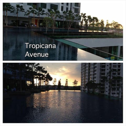 Tropicana Avenue near Centre Point PJ with wifi