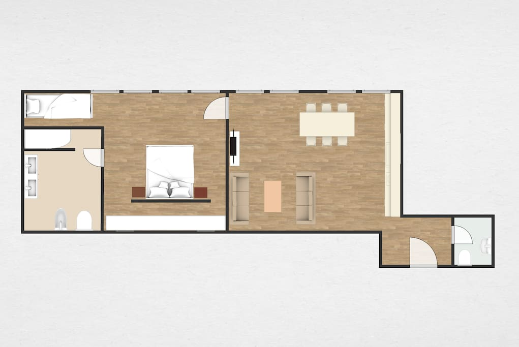 Map of apartment