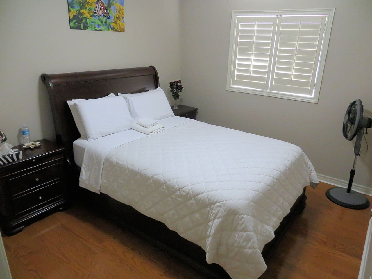 Very clean & comfortable room for your relaxation.