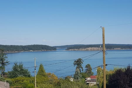 Clean, Warm, Cozy 1 Bedroom Suite with Ocean View - Nanaimo