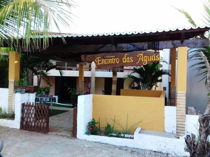 Chalé na paradisíaca praia de Barra do Cunhaú.