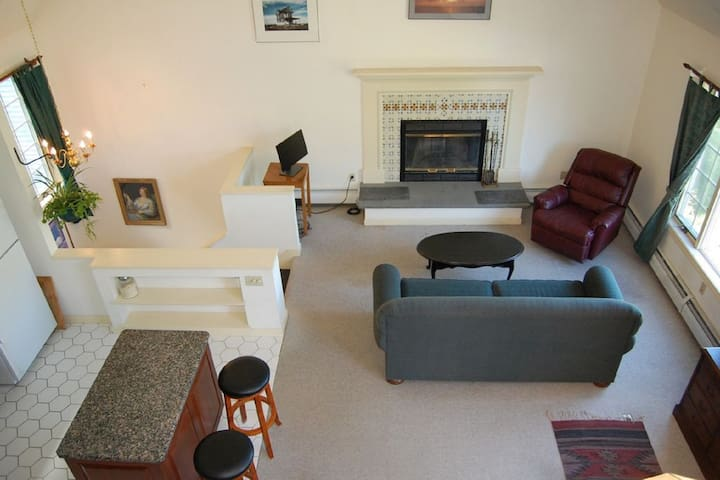 Awesome Mountain Views at this Studio with Loft - Sunderland - Apartament