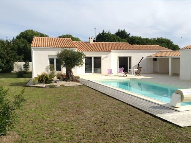 Oleron : maison 10 pers + piscine , proche mer - Le Grand-Village-Plage