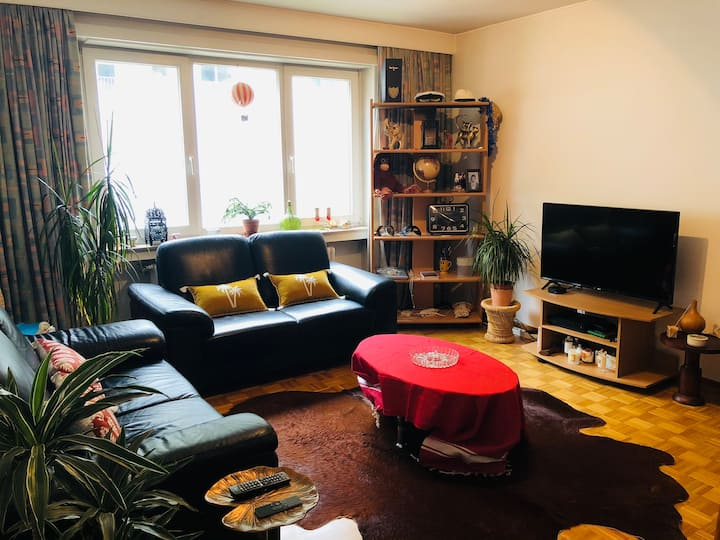 Cosy apartment 60 m2 - 5 min from city center