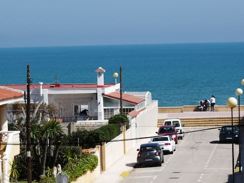 Daimús sea view, beach at 50 m