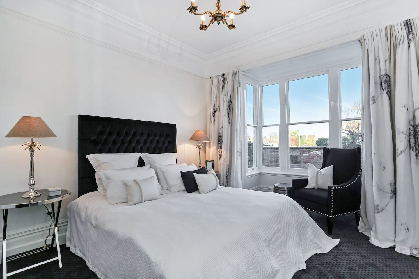 Beautiful newly decorated bedroom