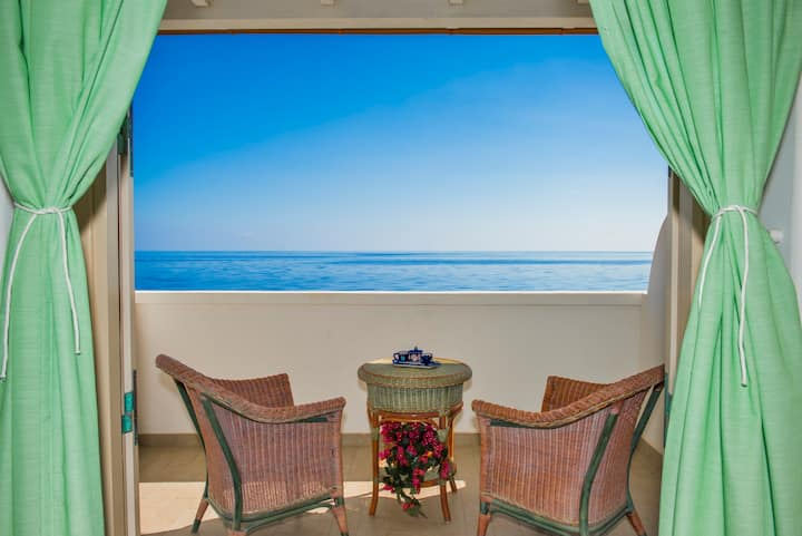 Double Room with terrace sea view