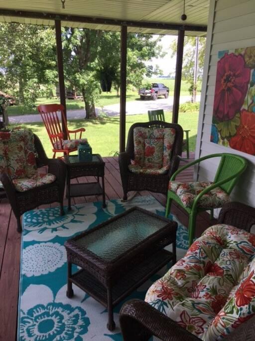 Enjoy the serenity of the wrap around porch.