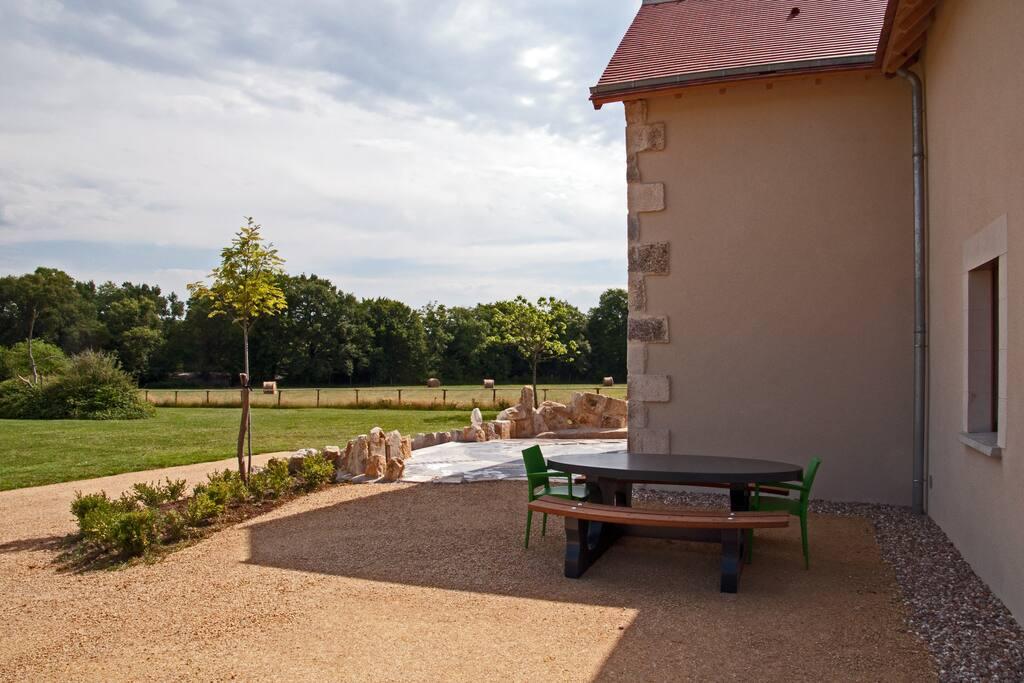 Brenne-villa, accès fascile