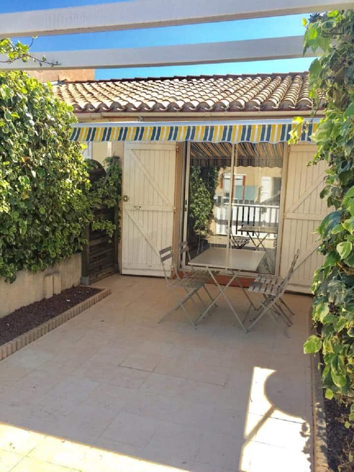 maison dans résidence sécurisée  st Cyprien plage