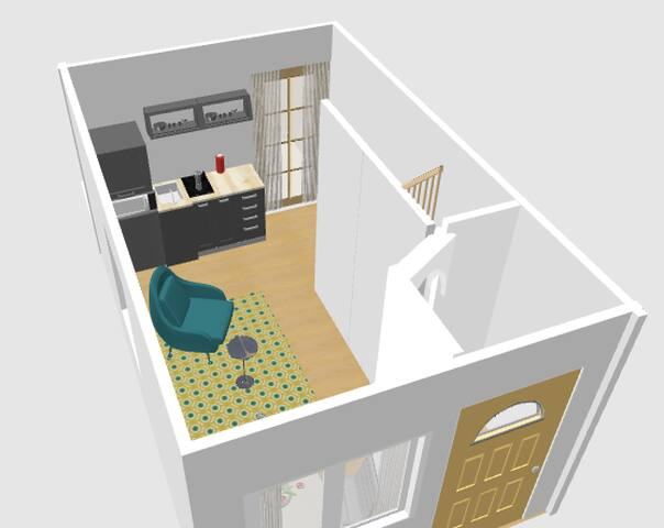 NEW up from May 2018: Apartment for 2