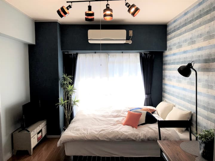 """Center Nagoya """"Denim"""" Easy access to Airport"""