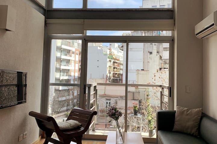 Hermoso Duplex en Recoleta (excelente ubicación)