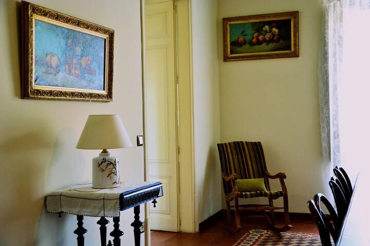 Zugang zum Zimmer