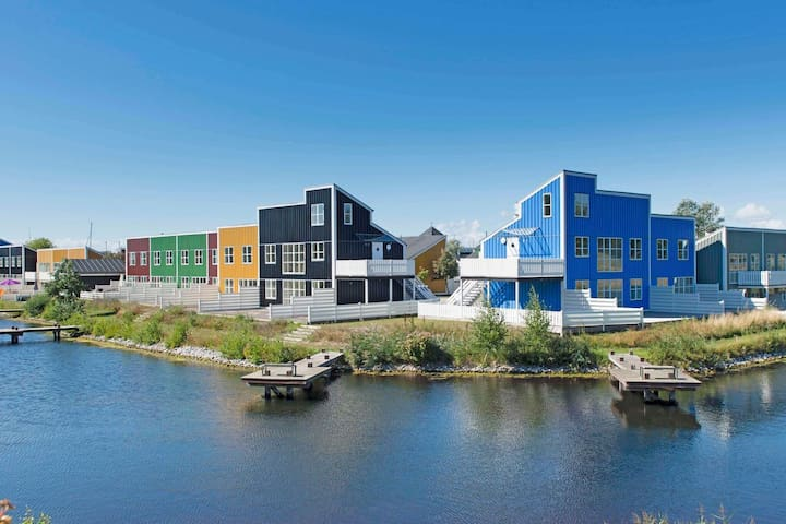 7 person holiday home on a holiday park in Ebeltoft