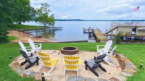 Waterfront Guest Cottage on Lake Gaston