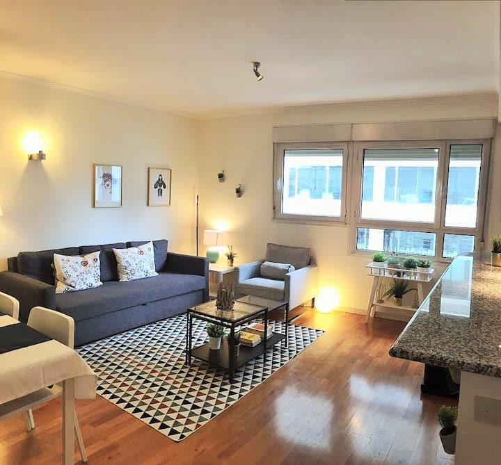 S - Beautiful flat with Parking! Lisbon center