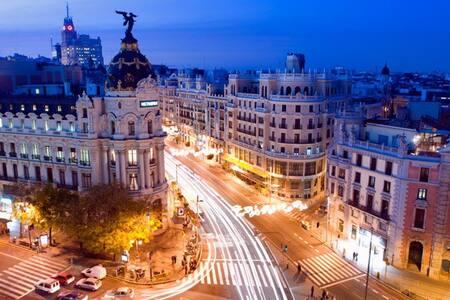 Hab doble : 10 min del Aeropuerto - Madrid