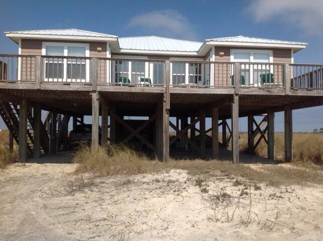 RELAXING FAMILY GETAWAY  WITH GULF & BAY VIEW - Fort Morgan - Overig