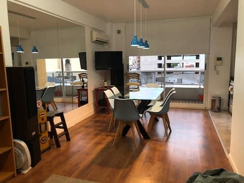 Apartamento con vista al frente en Villa Devoto