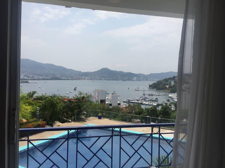 Hermosa vista al mar. ⛵️