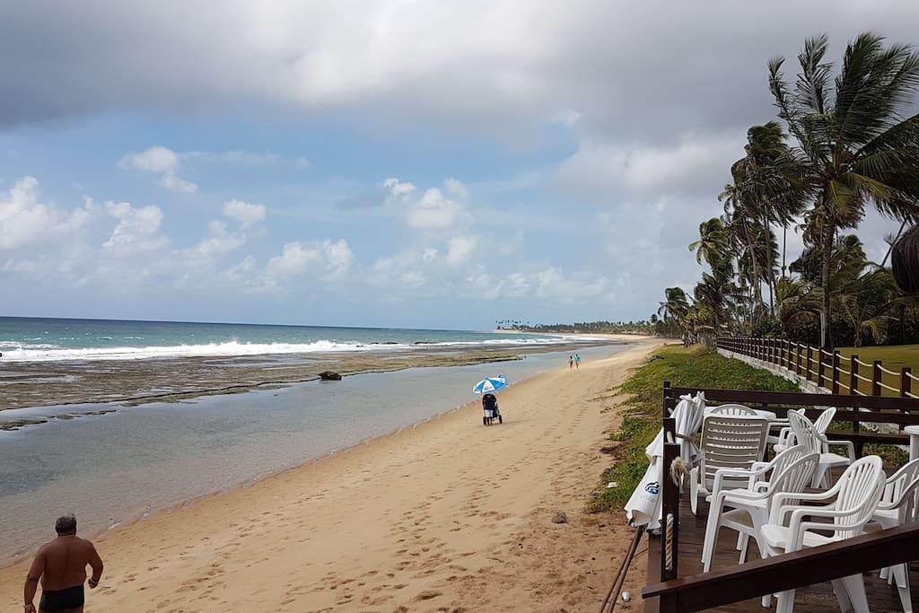 Praia - Frente do Hotel
