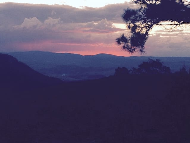 Local sunset.