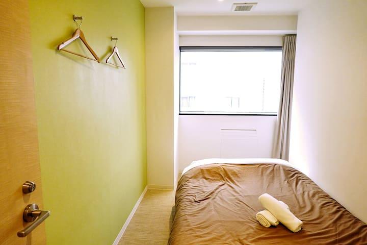 [Planetyze hostel] Double Room, Shared Bathroom