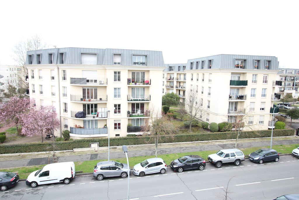 Chartrons r sidence haussmann 60m2 parking for Residence location bordeaux