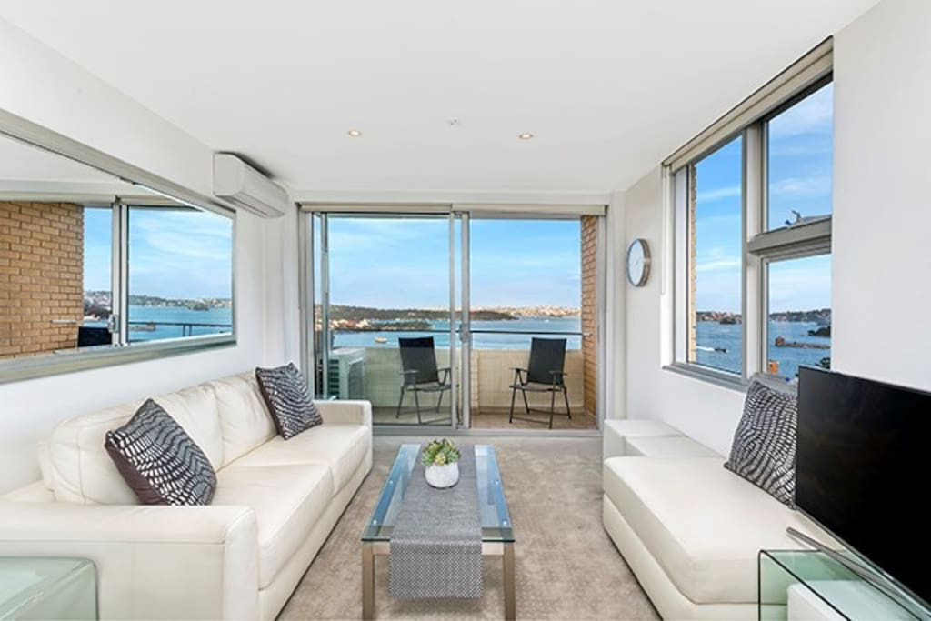 jaw dropping panoramic sydney harbour views cbela wohnungen zur miete in kirribilli new south. Black Bedroom Furniture Sets. Home Design Ideas