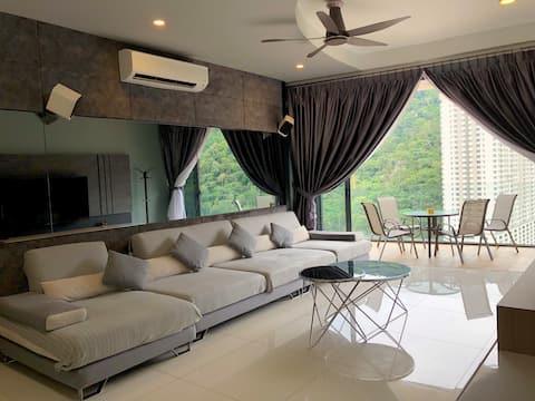Arte S ◆ Hill View ◆ Cozy @ FREE WIFI 三房式山景豪华公寓