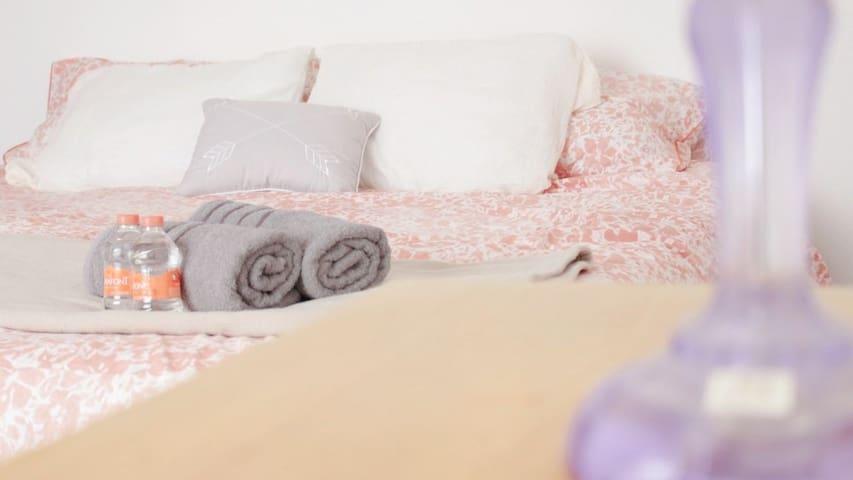 Cómoda habitación en casa sola* al sur de Puebla