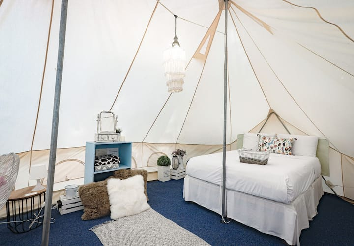 Nirvana Glamping Tent for up to 4 people