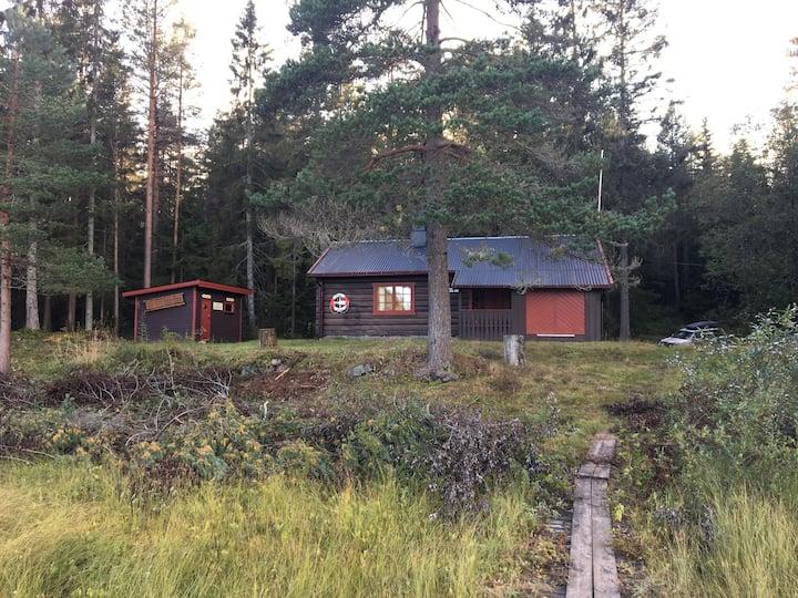 Steglebu - Drammen Trekkhundklubb sin klubbhytte