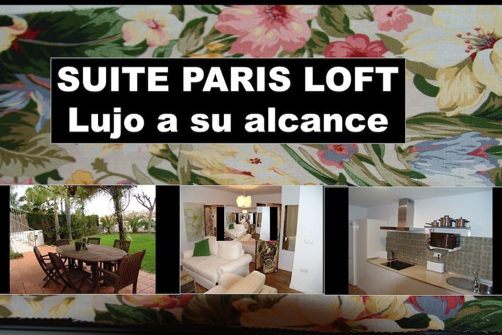 Suite centre de paris marbella jardin piscine lofts for Loft jardin paris