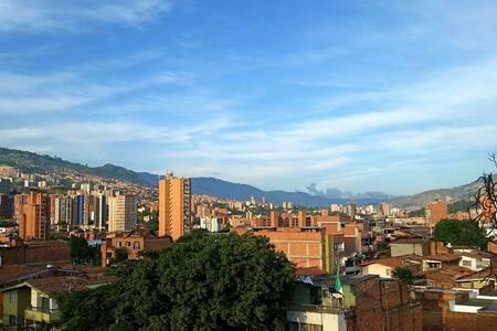 Cozy modern penthouse in Medellin