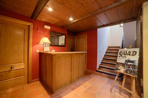Pleasant Apartment in Gudar with Fireplace
