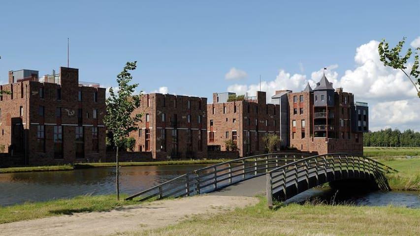 Prachtige kasteelwoning te 's-Hertogenbosch. - 's-Hertogenbosch