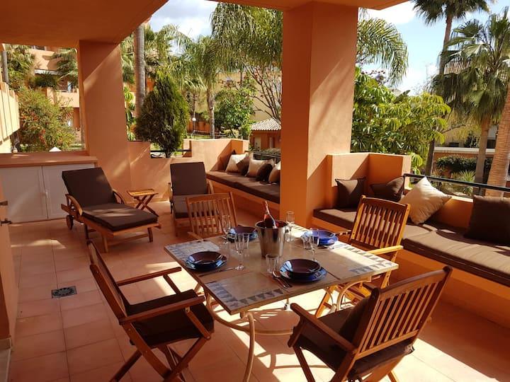 Bel appartement raffiné à 5min de la plage