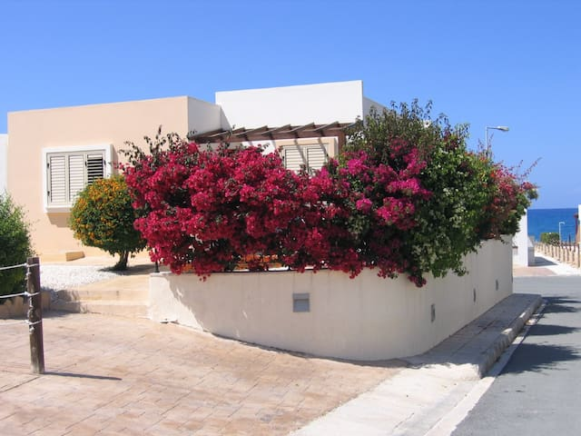 Stunning detached villa 60 metres from the sea.