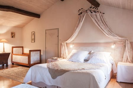 Le refuge du peintre-chambre Tahiti - Sainte-Terre - Bed & Breakfast